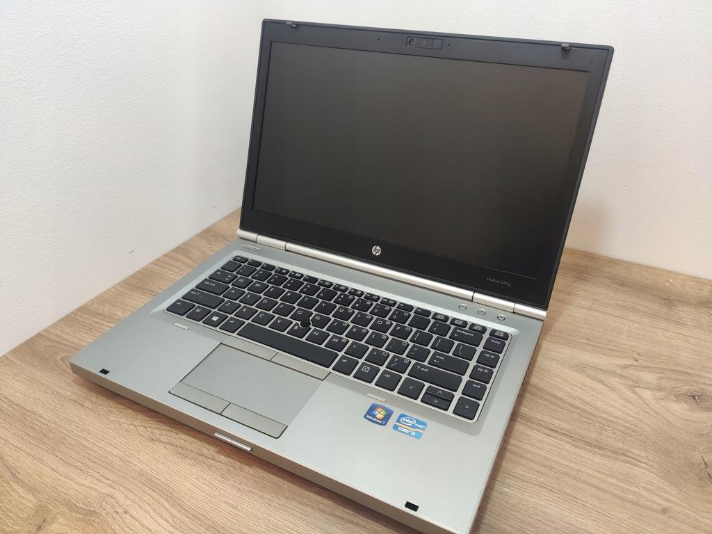 HP 8470P I5-3320M 4GB 320HDD WIN10 KAMERA