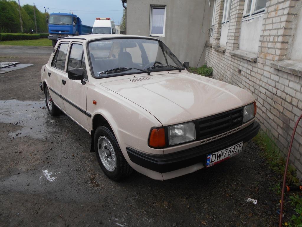 Skoda 125L, 120L Wrocław, sprawna, zarejestrowana