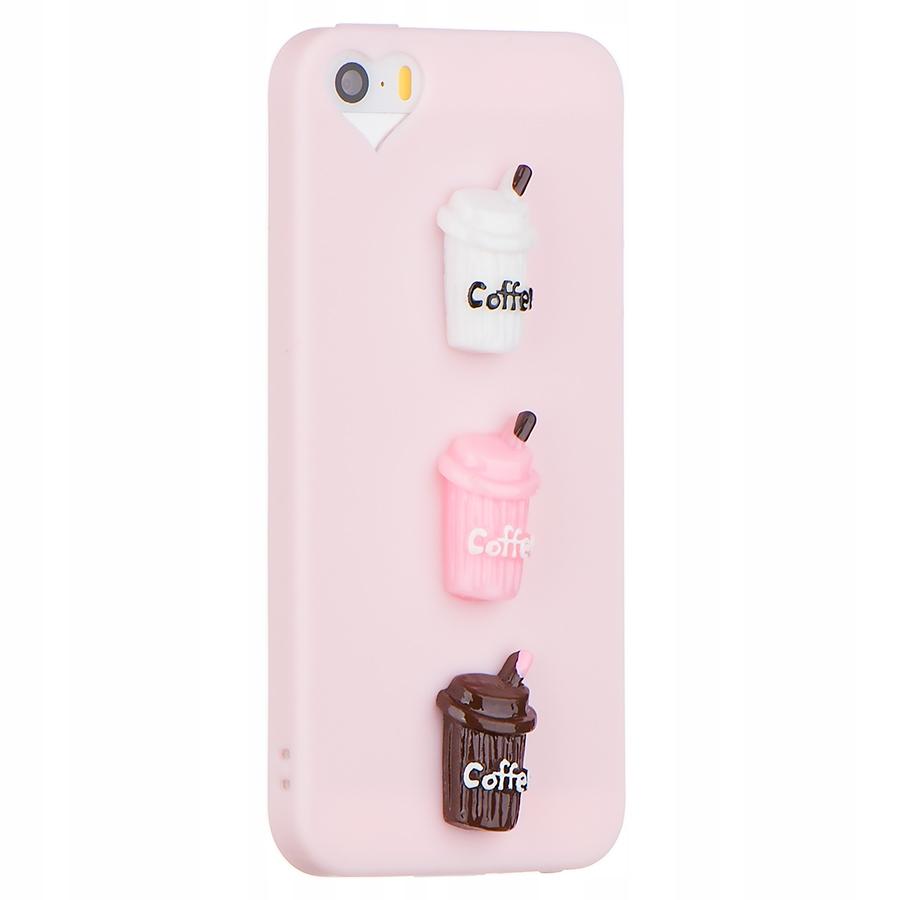 Iphone 5 5s Se Etui Silikonowe 3d Kubek Kawy 7191780396 Oficjalne Archiwum Allegro