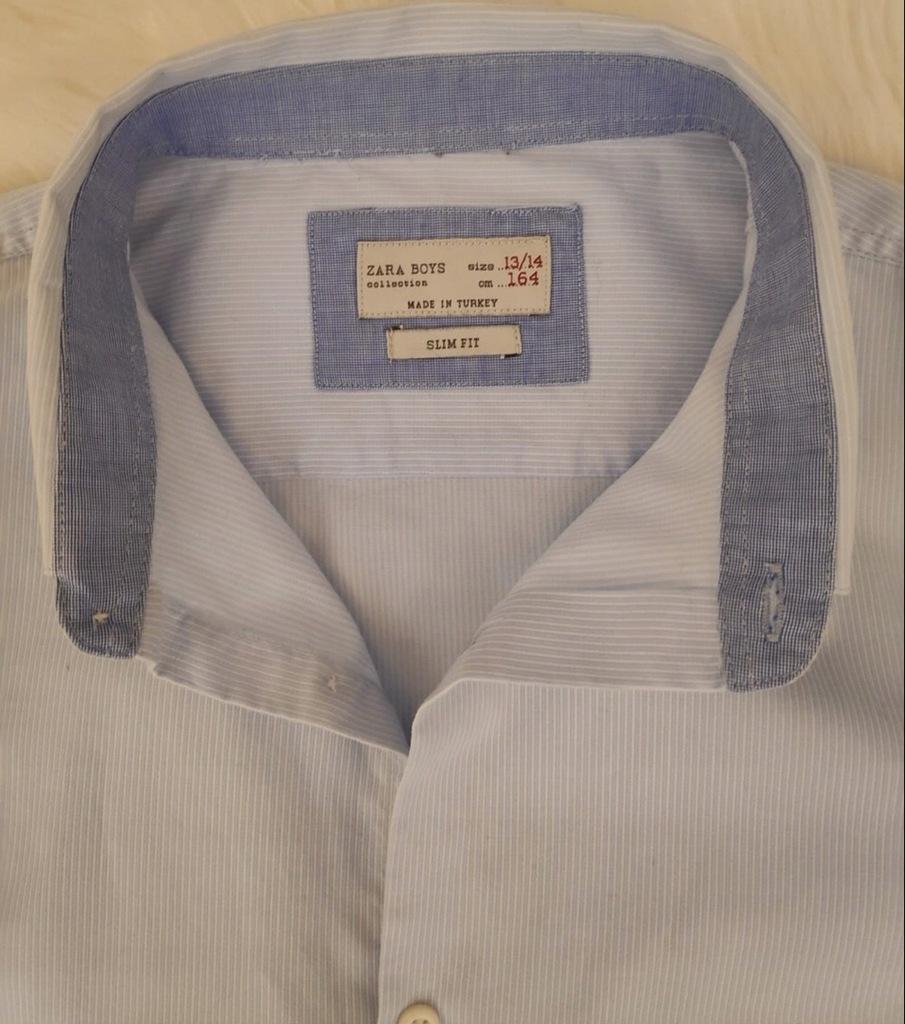 koszula chłopieca zara