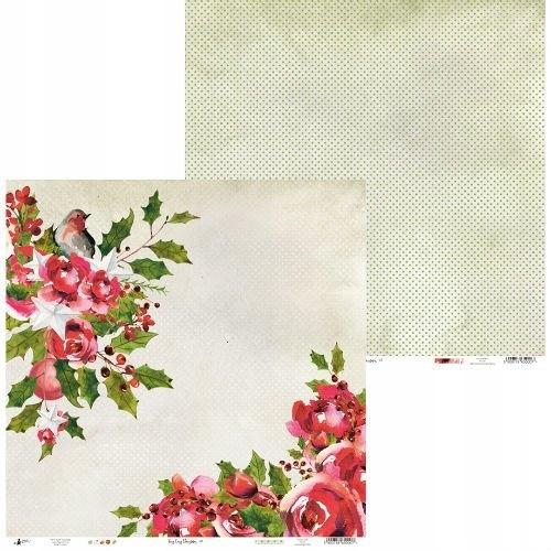 Papier Rosy Cosy Christmas 30,5x30,5 cm - 01