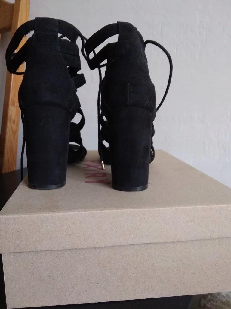 Sandały Jenny Fairy W17SS547 1 Czarny Damskie Buty