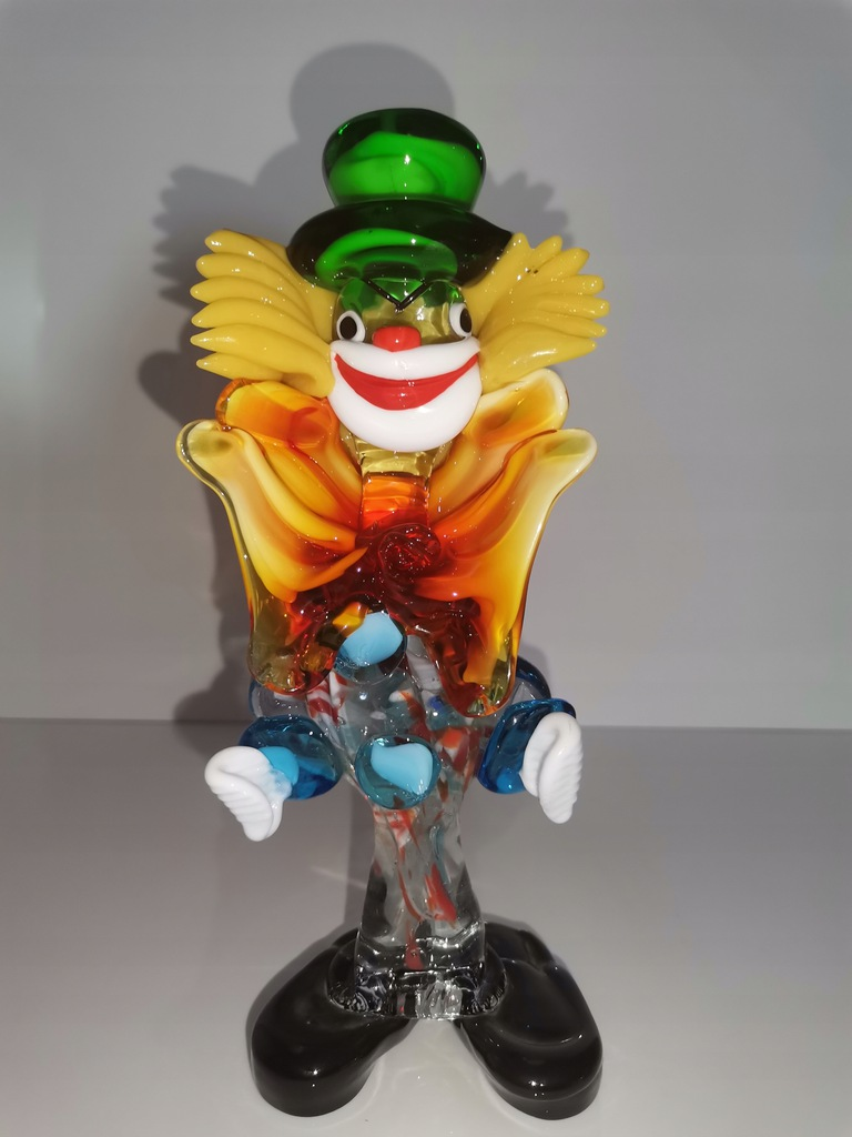 Klaun Murano figurka 22 cm