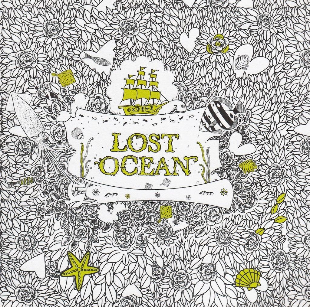 Antystresowa Kolorowanka Lost Ocean 7159927959 Oficjalne Archiwum Allegro