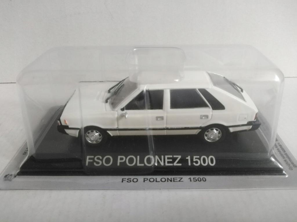 1:43 model Fso Polonez 1500 Prl Kultowe Złota