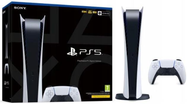 KONSOLA SONY PS5 PlayStation 5 Digital Edition