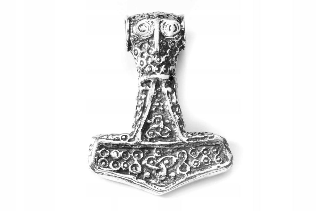Zawieszka srebrna Młot Thora Wanaheim srebro