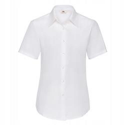 DAMSKA koszula OXFORD SHORT FRUIT biały 3XL