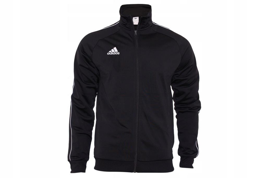 Adidas Bluza Męska Rozpinana czarna CE9053 S