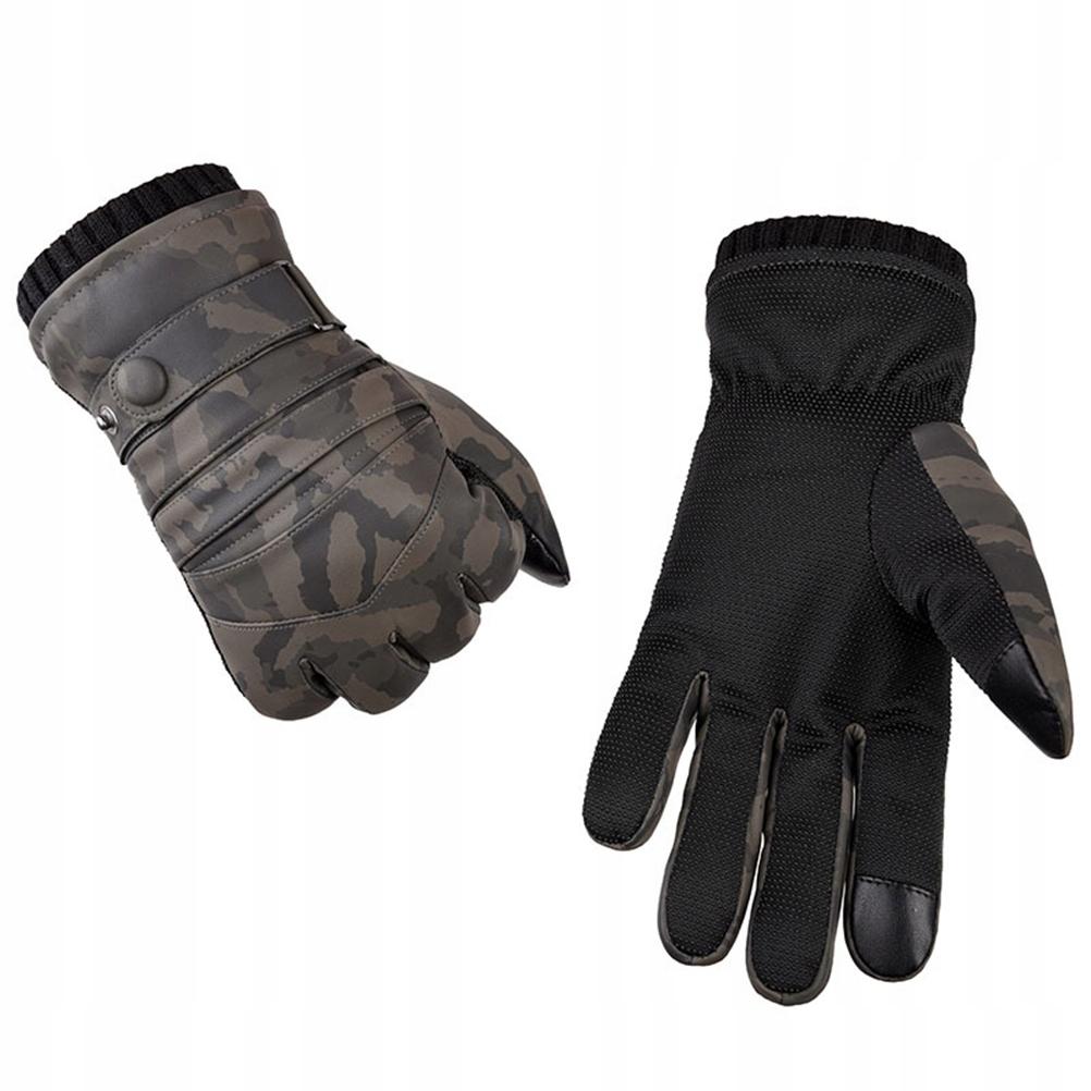 1 para Zimowe rękawiczki zewnętrzne Pogrubione plu