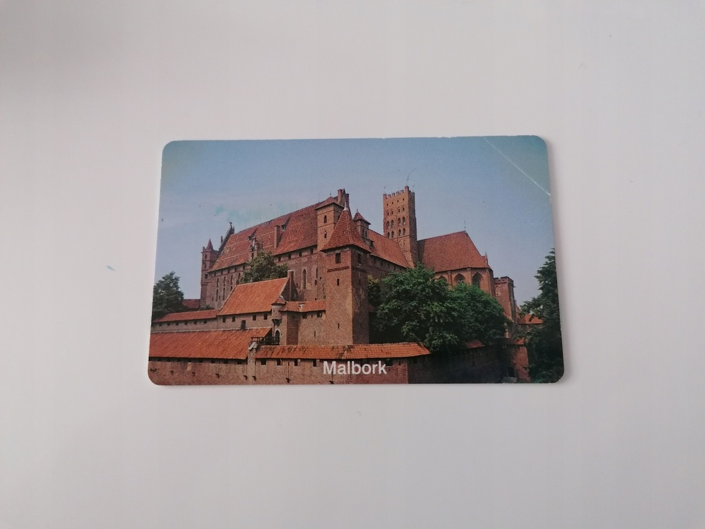 Karta kolekcjonerska PEŁNA MALBORK