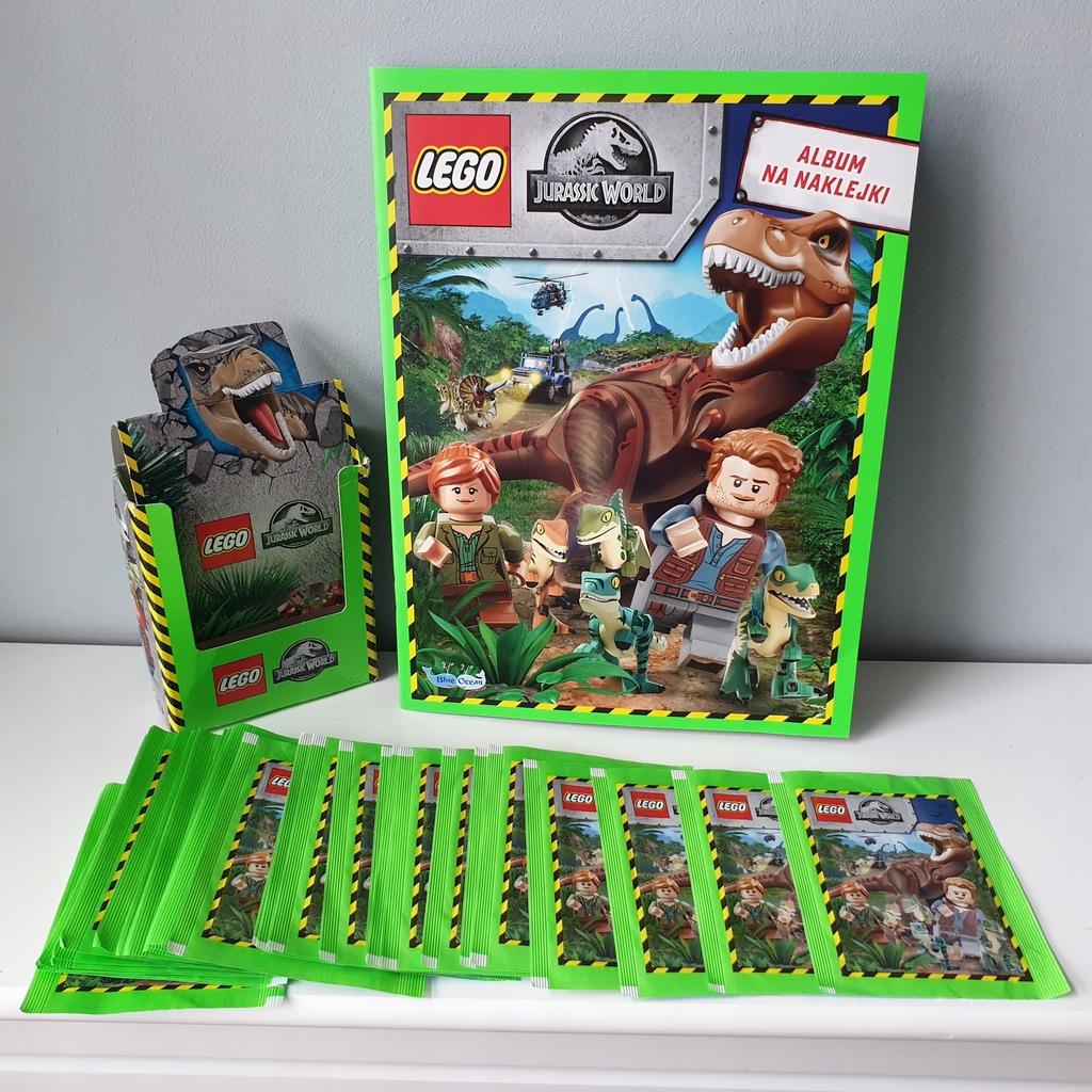 Zestaw Lego Jurassic World ALBUM 36 Saszetki