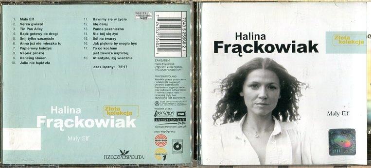 Halina Frackowiak Maly Elf Cd Sh0262 7916318723 Oficjalne Archiwum Allegro