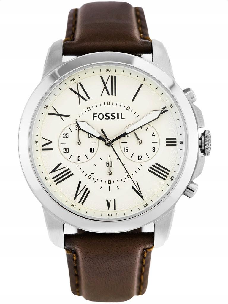 Meski Zegarek Fossil Fs4735 Grant Chronograf 8890101013 Oficjalne Archiwum Allegro