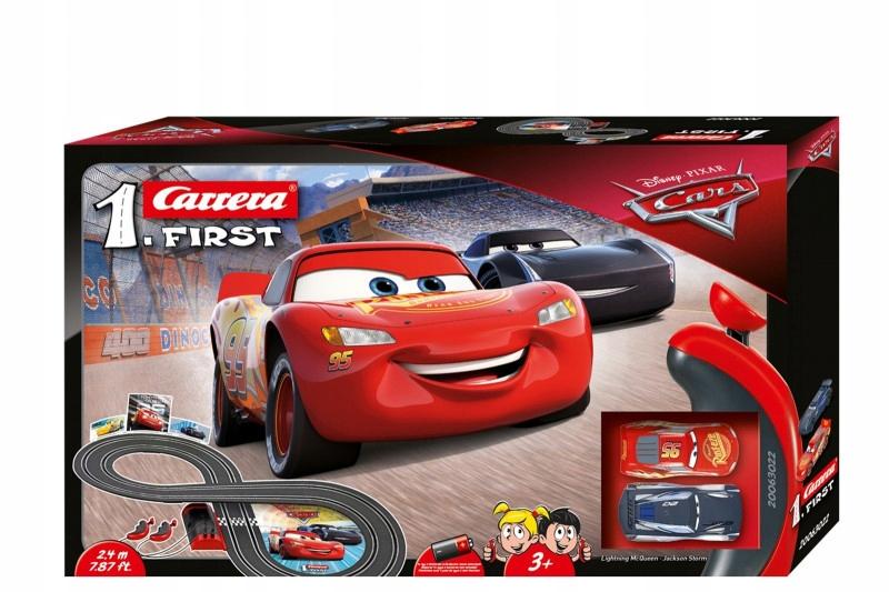 Carrera Tor wyścigowy First na baterie Disney-Pixa