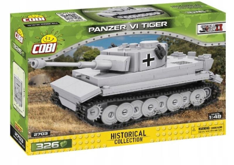 Klocki HC WWII Panzer VI Tiger