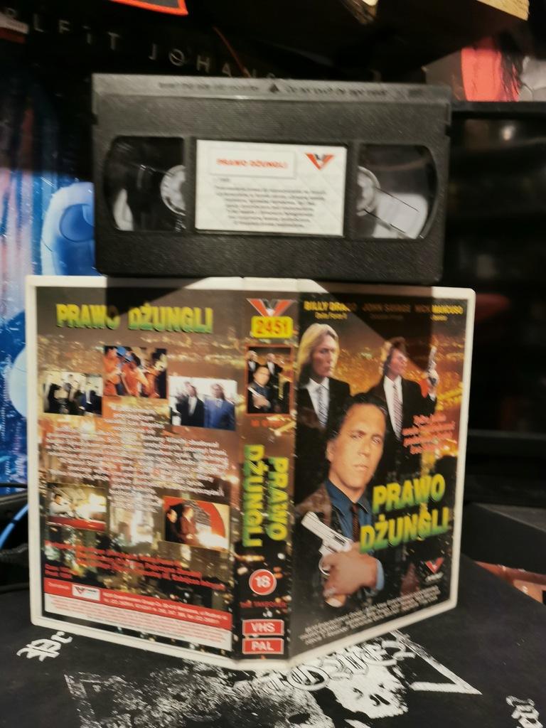 Prawo dżungli VHS Muvi