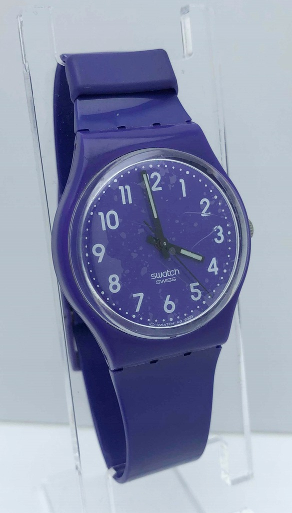 Zegarek SWATCH fioletowy pasek LOMBARD66