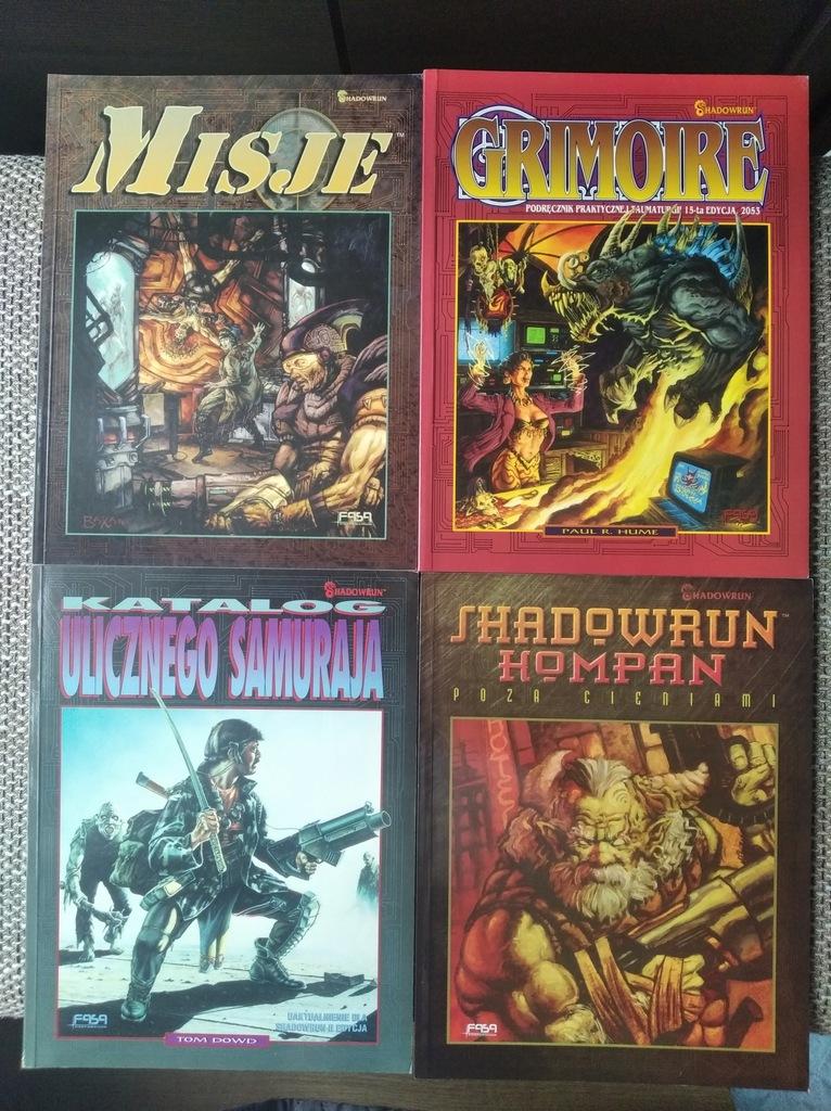 Shadowrun RPG PL kolekcja dodatków