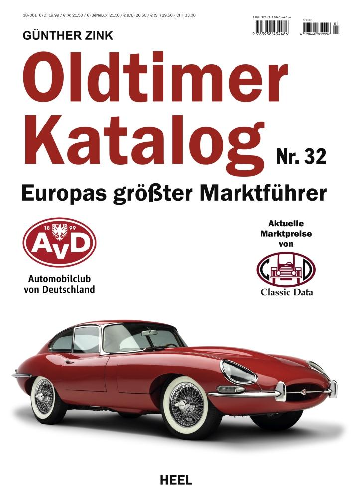Oldtimer Katalog nr 32 - cennik - przewodnik 2018