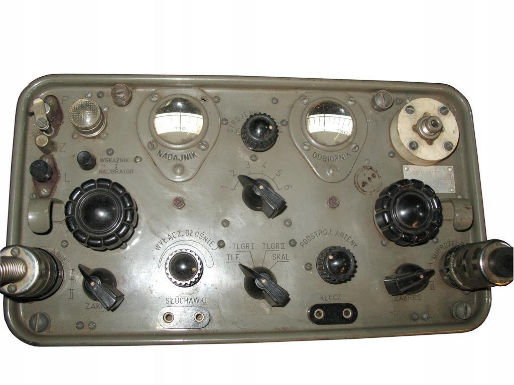Wojskowa radiostacja RBM-1 komplet z zasilaczem.