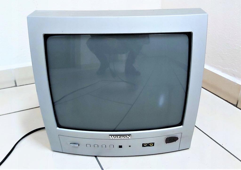 Telewizor kineskopowy Watson NIE DZIAŁA, na części