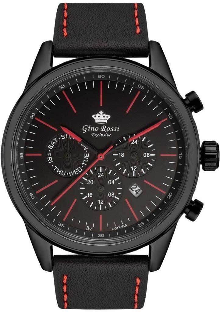 Zegarek Męski Gino Rossi Exclusive ChronograF E107