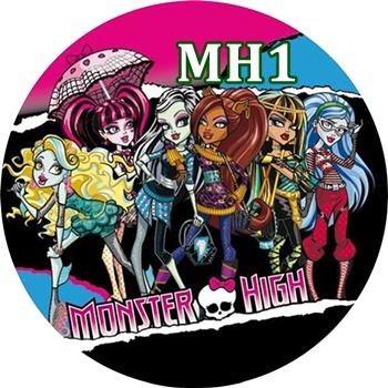 Oplatek Na Tort Monster High Kola Super Wzory 24h 7339333080 Oficjalne Archiwum Allegro