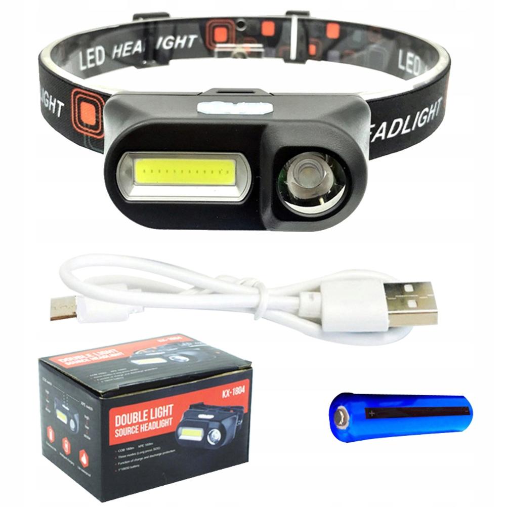 USB XPE Czujnik COB Czujnik LED reflektora Lampa
