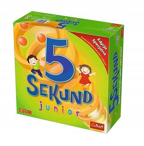 5 SEKUND JUNIOR EDYCJA SPECJALNA 2.0 TREFL, TREFL
