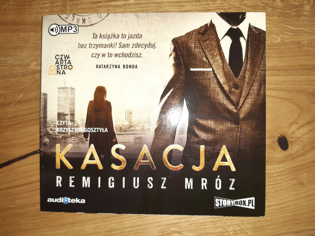 Remigiusz Mróz- Kasacja- audiobook