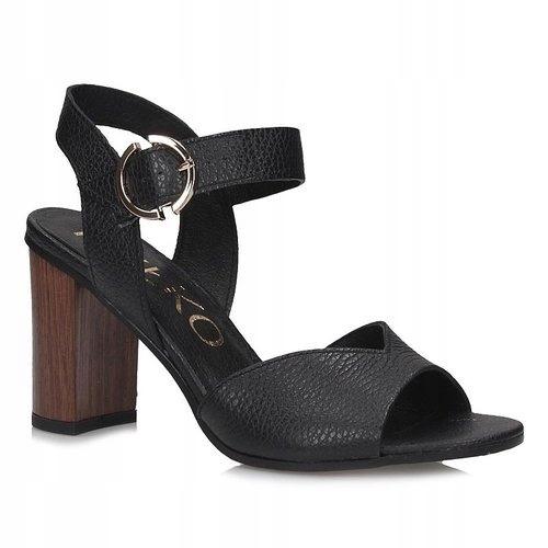 Sandały Ryłko 9HFR4 czarne