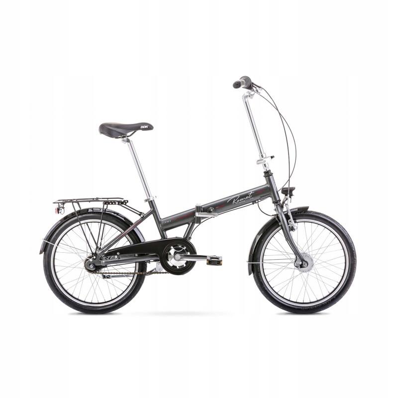 2020104 - 13 XS Rower ROMET WIGRY 4 grafitowy