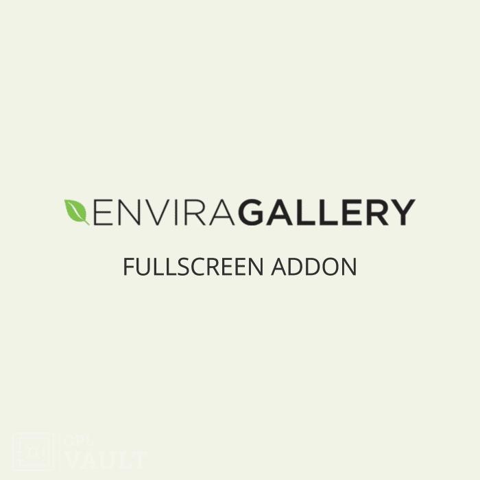 Wtyczka WordPress Envira Gallery Fullscreen Add-On