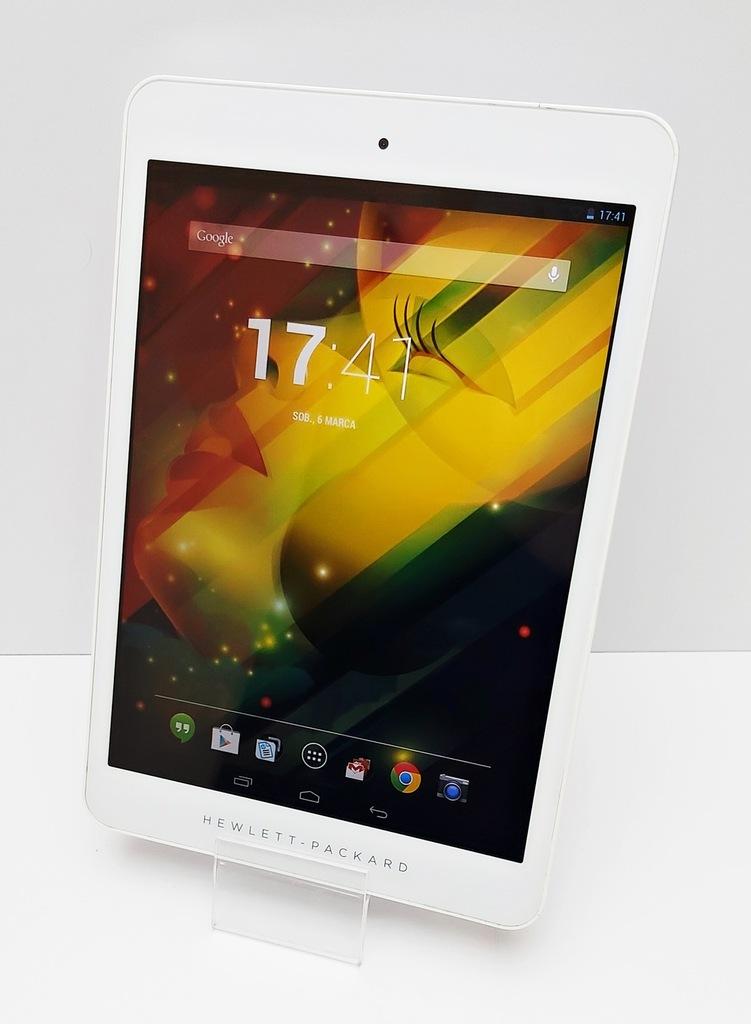 Tablet HP 8 w kolorze srebrnym M.