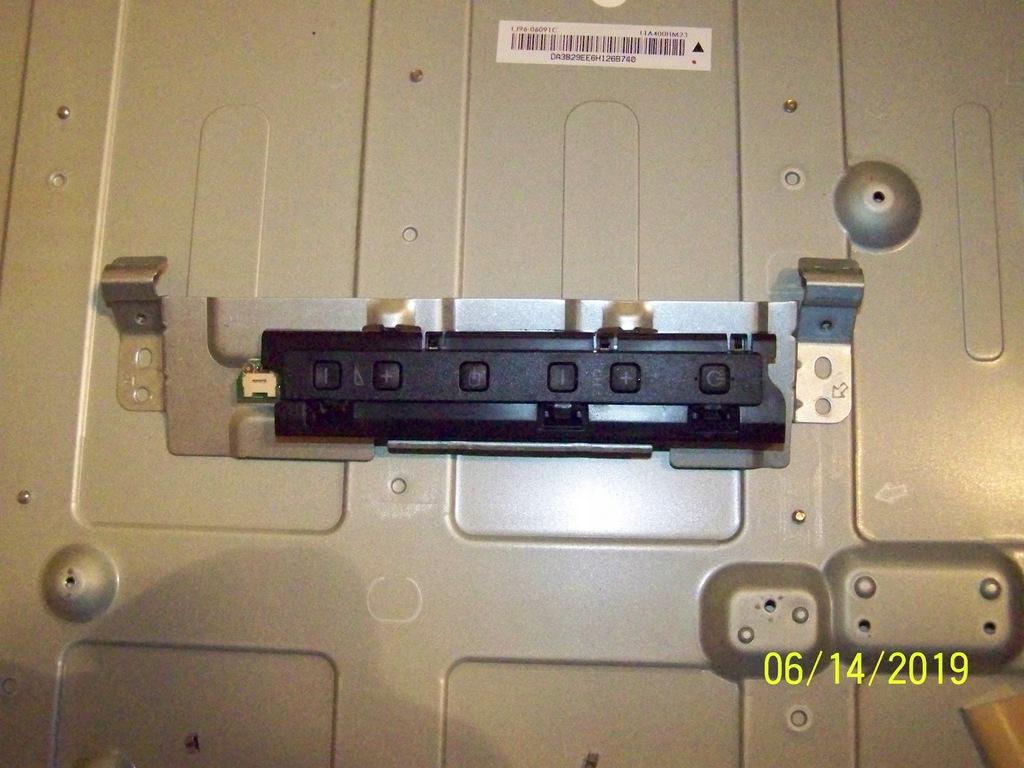 Moduł przycisków Philips 40PFL3078K/12 (206/28/1)