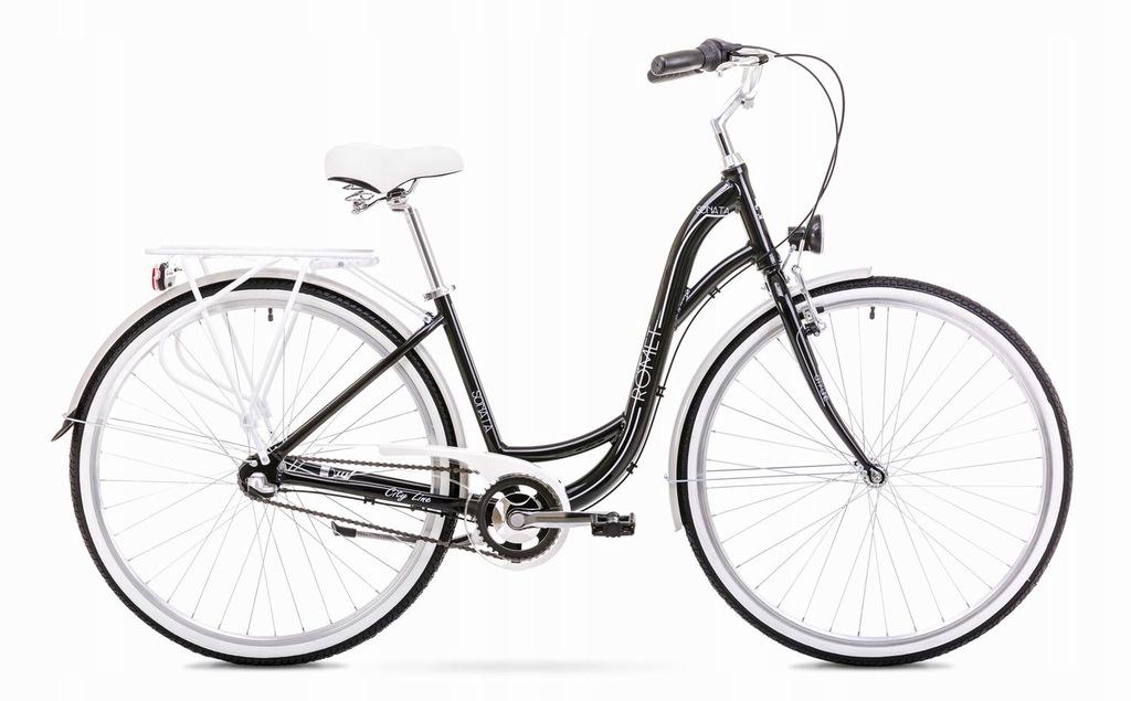 1928168 - 19 L Rower ROMET SONATA 2.0 czarno-szary