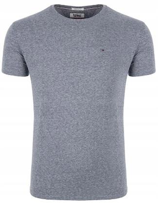 T-Shirt Koszulka Tommy Hilfiger SZARA - roz. L