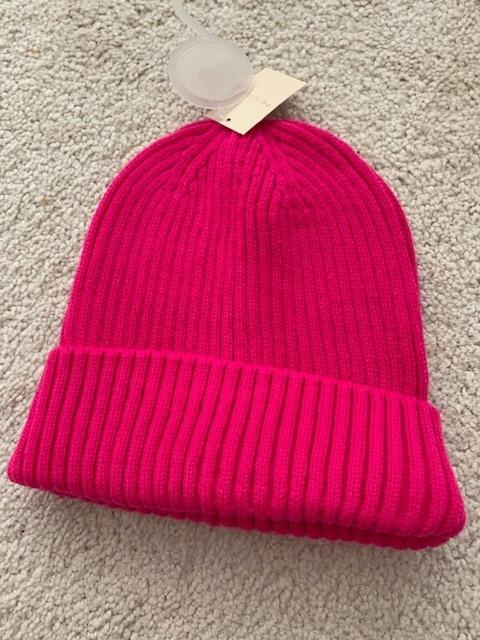 PRIMARK czapka neonowa różowa