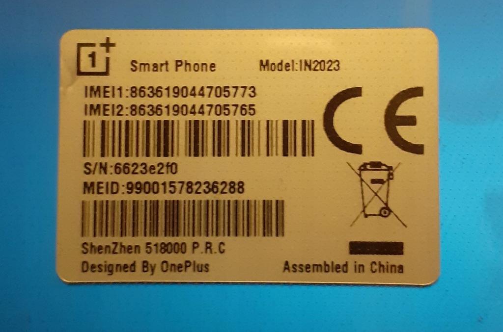 OnePlus 8 Pro 12/256 blue 1-miesięczny