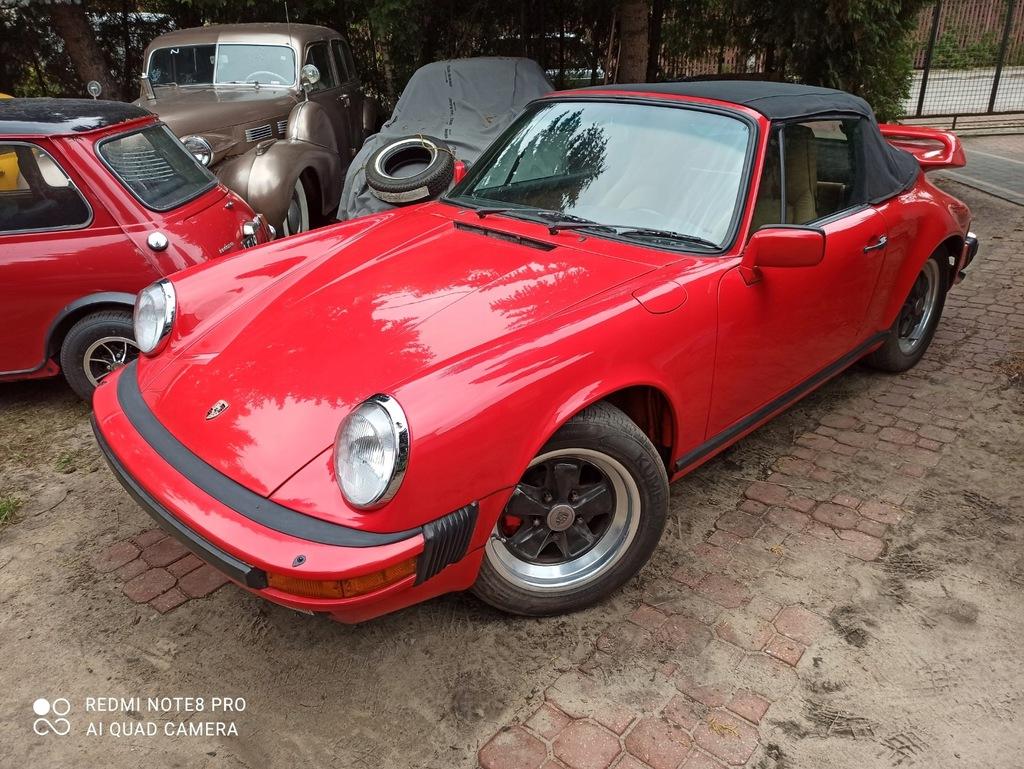 Porsche911 SC cabrio