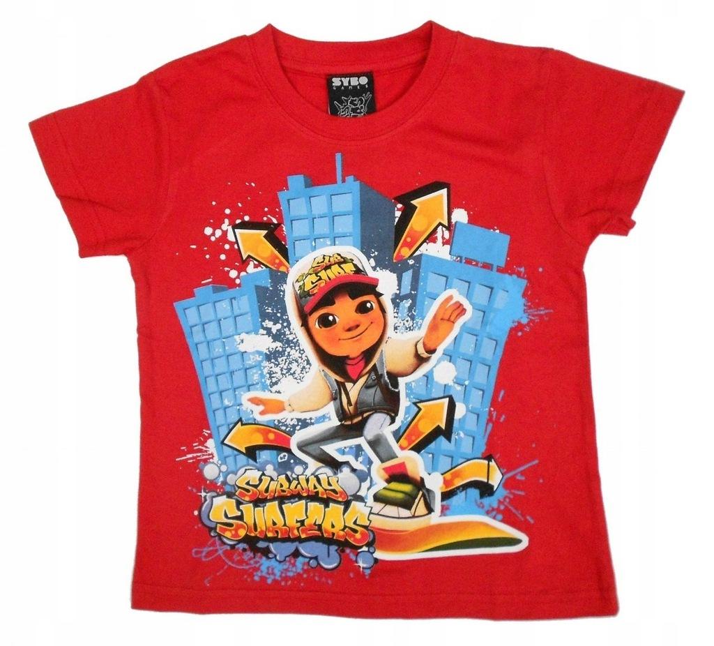 T-shirt Subway Surfers : Rozmiar: - 5/6