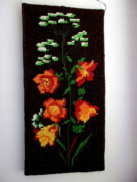 Kilim Gobelin makata hand made haft duży 93 X 44