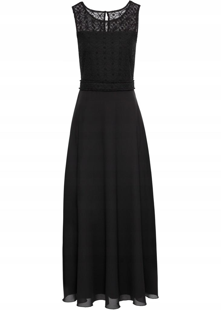 L99 BPC Sukienka wieczorowa z cekinami r.40