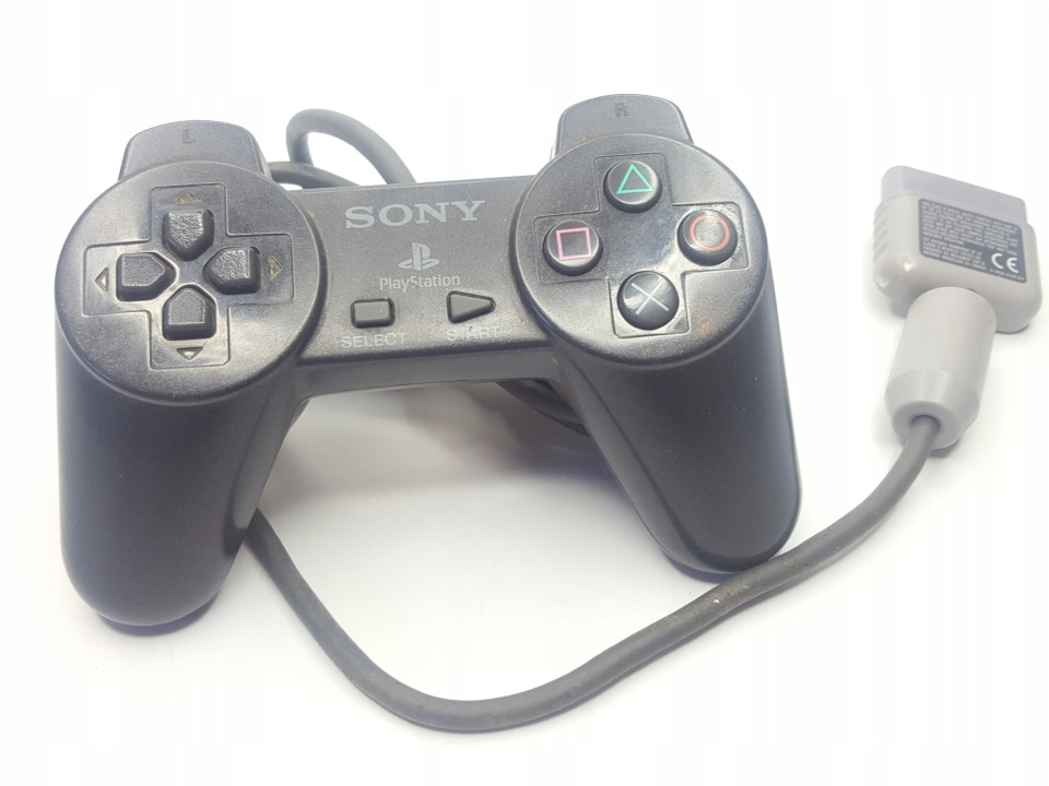 Sony Playstation OFICJALNY KONTROLER BLACK - PS1