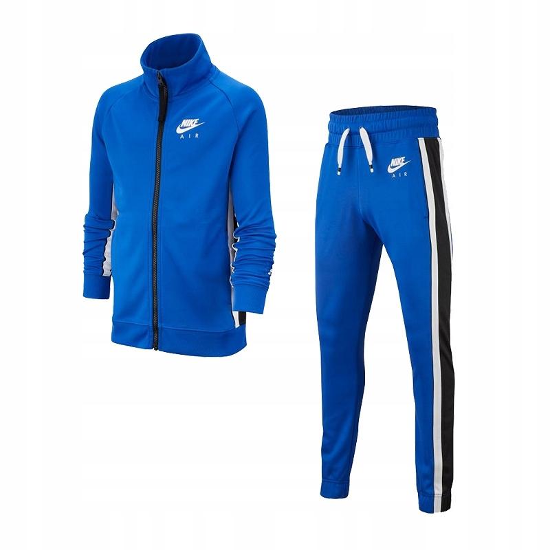 Dres NIKE AIR Junior niebieski BV3603-480 - 140 cm