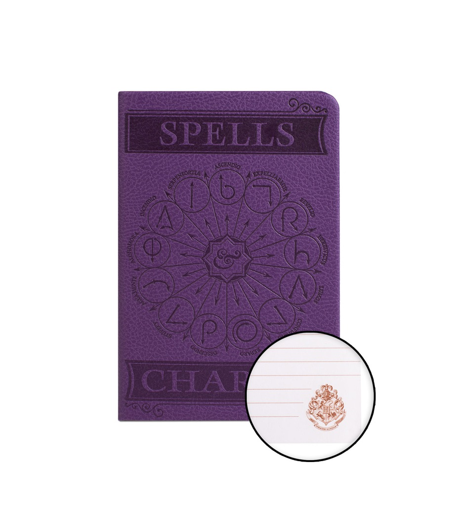 Harry Potter Spells and Charms notes kieszonkowy