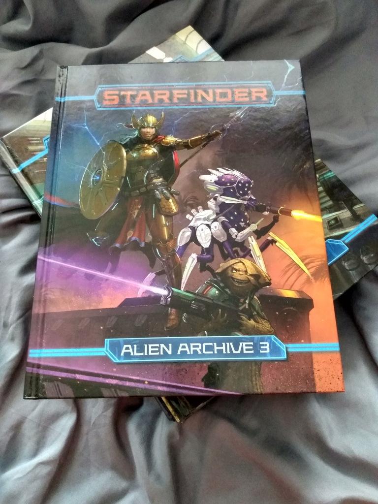 STARFINDER ALIEN ARCHIVE – Podręcznik trzeci
