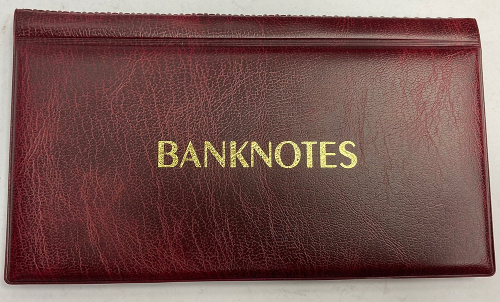 Klaser na 20 banknotów, 17 x 8 cm