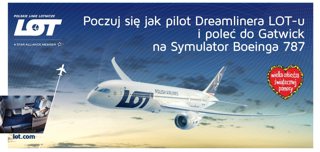 Voucher na symulator Boeinga 787 Dreamliner